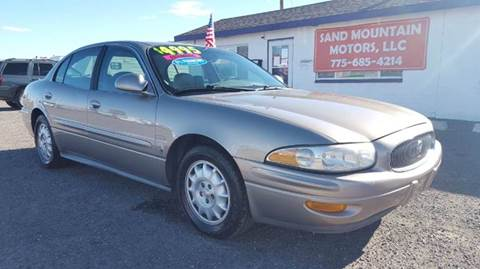 2002 Buick LeSabre for sale at Sand Mountain Motors in Fallon NV