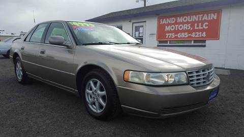 2002 Cadillac Seville for sale at Sand Mountain Motors in Fallon NV
