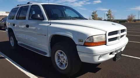 2002 Dodge Durango for sale at Sand Mountain Motors in Fallon NV