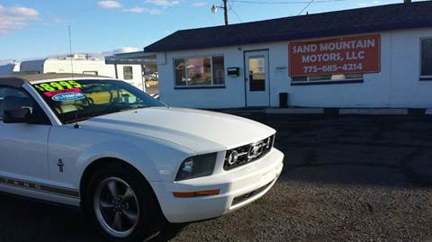 2006 Ford Mustang for sale at Sand Mountain Motors in Fallon NV