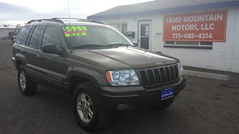 1999 Jeep Grand Cherokee for sale at Sand Mountain Motors in Fallon NV