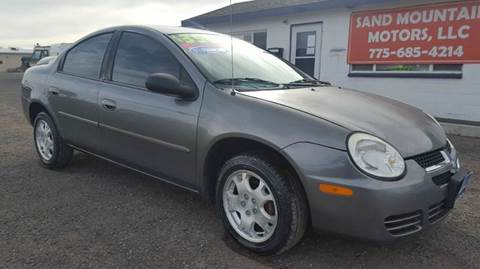 2005 Dodge Neon for sale at Sand Mountain Motors in Fallon NV