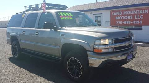 2000 Chevrolet Suburban for sale at Sand Mountain Motors in Fallon NV