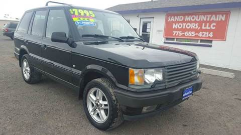 2000 Land Rover Range Rover for sale at Sand Mountain Motors in Fallon NV
