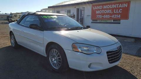 2004 Chrysler Sebring for sale at Sand Mountain Motors in Fallon NV