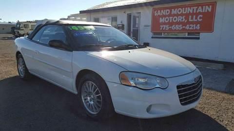 2004 Chrysler Sebring for sale at Sand Mountain Motors in Fallon NV