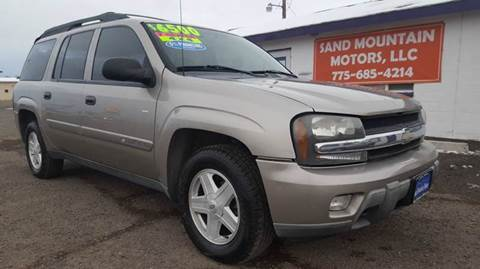 2003 Chevrolet TrailBlazer for sale at Sand Mountain Motors in Fallon NV
