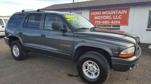 2000 Dodge Durango for sale at Sand Mountain Motors in Fallon NV