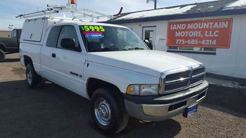 2002 Dodge Ram Pickup 2500 for sale at Sand Mountain Motors in Fallon NV