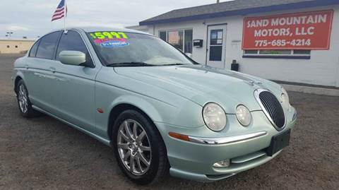 2001 Jaguar S-Type for sale at Sand Mountain Motors in Fallon NV