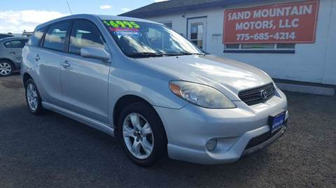 2005 Toyota Matrix for sale at Sand Mountain Motors in Fallon NV