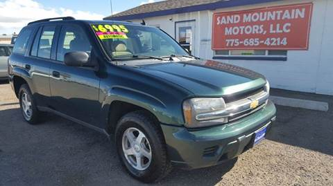 2006 Chevrolet TrailBlazer for sale at Sand Mountain Motors in Fallon NV