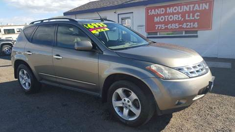 2004 Nissan Murano for sale at Sand Mountain Motors in Fallon NV