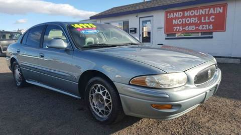 2003 Buick LeSabre for sale at Sand Mountain Motors in Fallon NV