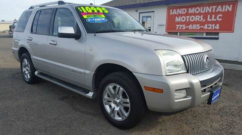 2007 Mercury Mountaineer for sale at Sand Mountain Motors in Fallon NV
