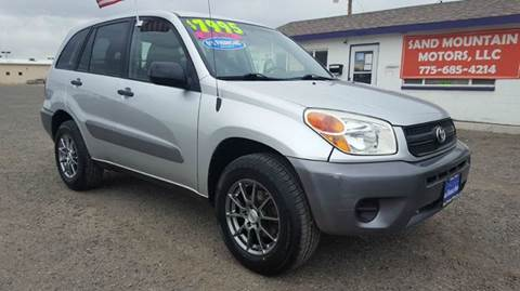 2004 Toyota RAV4 for sale at Sand Mountain Motors in Fallon NV