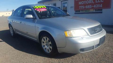 2000 Audi A6 for sale at Sand Mountain Motors in Fallon NV