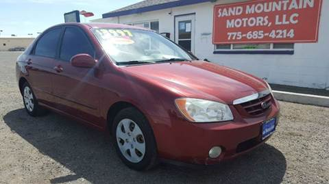 2005 Kia Spectra for sale at Sand Mountain Motors in Fallon NV