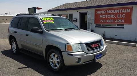 2004 GMC Envoy for sale at Sand Mountain Motors in Fallon NV