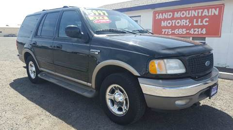 2002 Ford Expedition for sale at Sand Mountain Motors in Fallon NV