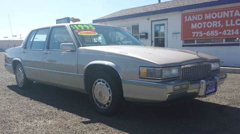 1990 Cadillac DeVille for sale at Sand Mountain Motors in Fallon NV