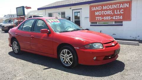 2004 Chevrolet Cavalier for sale at Sand Mountain Motors in Fallon NV