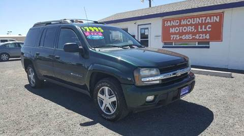2004 Chevrolet TrailBlazer EXT for sale at Sand Mountain Motors in Fallon NV