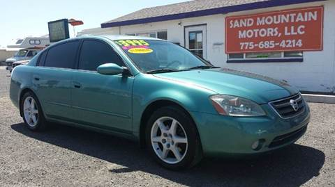 2003 Nissan Altima for sale at Sand Mountain Motors in Fallon NV