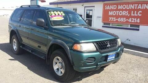 2003 Mitsubishi Montero Sport for sale at Sand Mountain Motors in Fallon NV