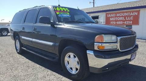 2004 GMC Yukon XL for sale at Sand Mountain Motors in Fallon NV