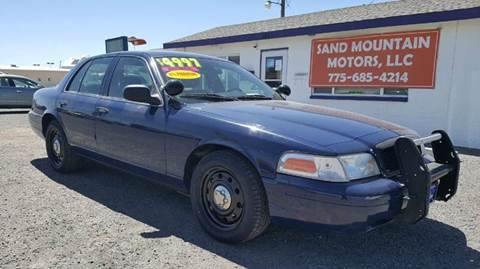 2008 Ford Crown Victoria for sale at Sand Mountain Motors in Fallon NV