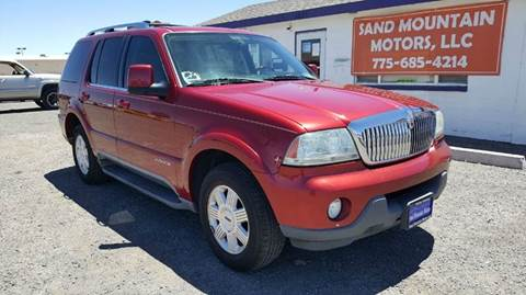2005 Lincoln Aviator for sale at Sand Mountain Motors in Fallon NV