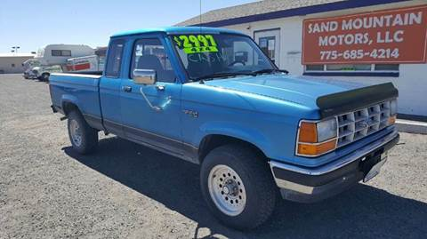 1992 Ford Ranger for sale at Sand Mountain Motors in Fallon NV