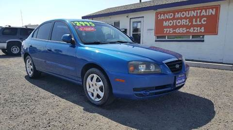 2004 Hyundai Elantra for sale at Sand Mountain Motors in Fallon NV