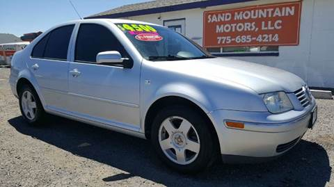 2005 Volkswagen Jetta for sale at Sand Mountain Motors in Fallon NV