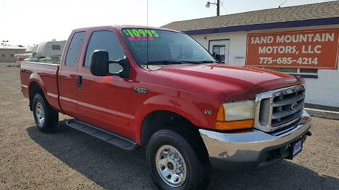 2001 Ford F-250 Super Duty for sale at Sand Mountain Motors in Fallon NV