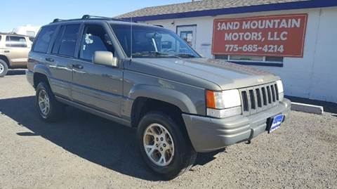 1998 Jeep Grand Cherokee for sale at Sand Mountain Motors in Fallon NV