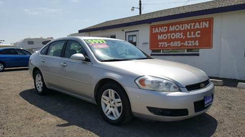 2006 Chevrolet Impala for sale at Sand Mountain Motors in Fallon NV