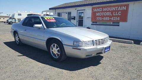 2001 Cadillac Eldorado for sale at Sand Mountain Motors in Fallon NV