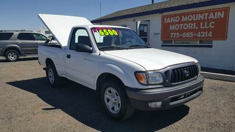 2002 Toyota Tacoma for sale at Sand Mountain Motors in Fallon NV