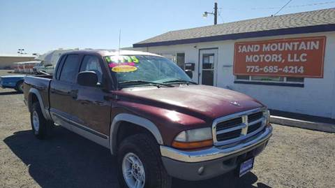 2000 Dodge Dakota for sale at Sand Mountain Motors in Fallon NV