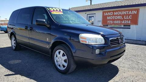 2006 Saturn Relay for sale at Sand Mountain Motors in Fallon NV