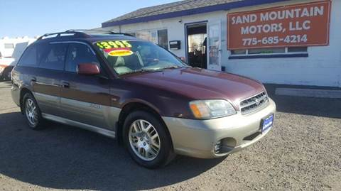 2001 Subaru Outback for sale at Sand Mountain Motors in Fallon NV