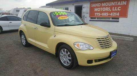 2007 Chrysler PT Cruiser for sale at Sand Mountain Motors in Fallon NV