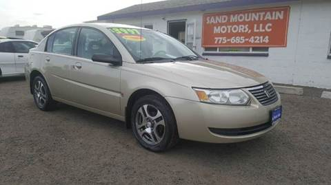 2005 Saturn Ion for sale at Sand Mountain Motors in Fallon NV