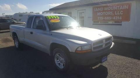 2003 Dodge Dakota for sale at Sand Mountain Motors in Fallon NV