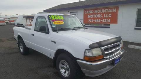 2000 Ford Ranger for sale at Sand Mountain Motors in Fallon NV