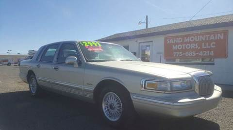 1997 Lincoln Town Car for sale at Sand Mountain Motors in Fallon NV