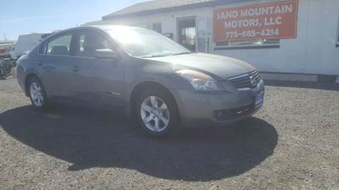 2009 Nissan Altima Hybrid for sale at Sand Mountain Motors in Fallon NV