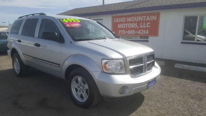 2007 Dodge Durango for sale at Sand Mountain Motors in Fallon NV